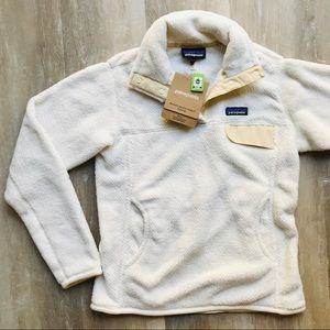 Patagonia Jacket | Re-Tool Snap-T Pullover | White